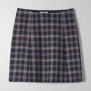 Babaton Modern Check Mini Skirt | Aritzia